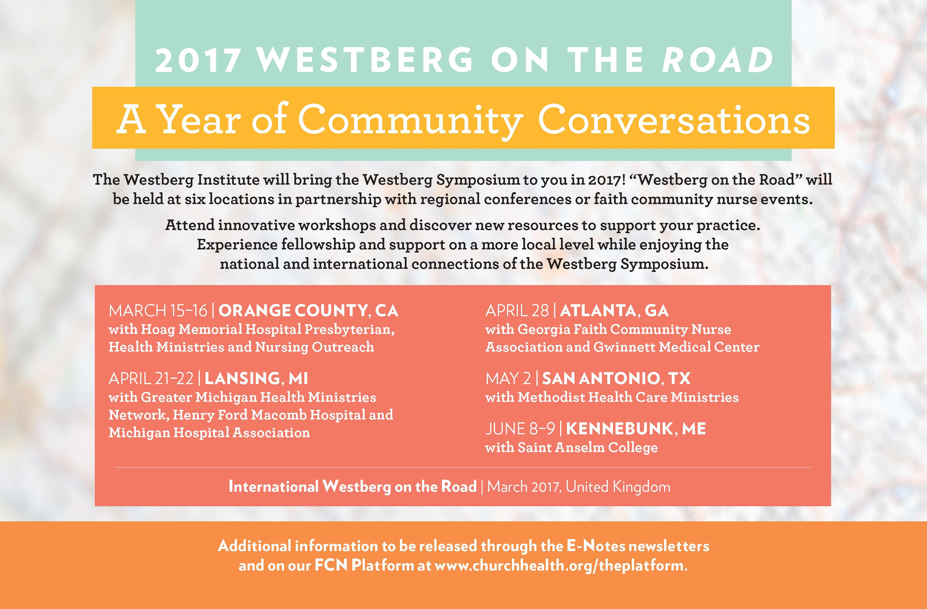 Westberg on the Road Ad-10-24-16